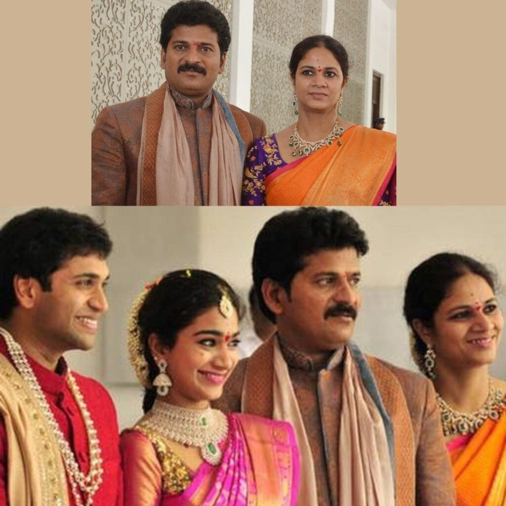 Revanth reddy which party